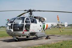 Helicóptero irlandés de Alouette III Fotografía de archivo