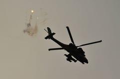 Helicóptero israelí de la fuerza aérea Fotografía de archivo libre de regalías