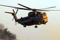 Helicóptero israelita do garanhão do mar da força aérea CH-53 Imagem de Stock