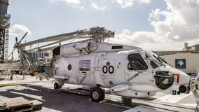Helicóptero japonês do Antissubmarino de Mitsubishi SH-60J fotografia de stock royalty free
