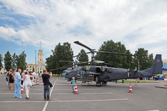 Helicóptero Ka-52 Imagem de Stock