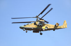 Helicóptero Ka-52 do russo Imagens de Stock