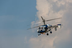 Helicóptero KA-26 fotografía de archivo