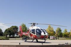 Helicóptero médico Fotografia de Stock Royalty Free