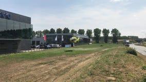 Helicóptero médico holandês do auxílio do ar - Lifeliner filme