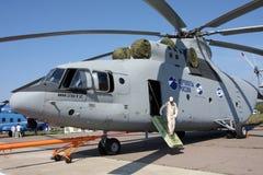 Helicóptero Mi-26T2. Foto de archivo libre de regalías