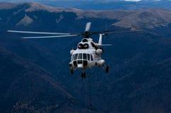 Helicóptero Mi-8-MTV-1 da empresa de Slovac Foto de Stock Royalty Free