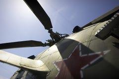 Helicóptero militar imagens de stock