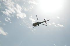 Helicóptero militar Imágenes de archivo libres de regalías