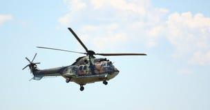 Helicóptero militar Foto de archivo