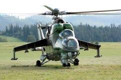 Helicóptero militar Fotos de archivo libres de regalías