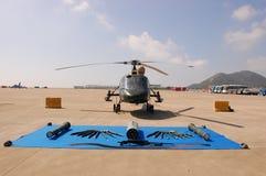 Helicóptero militar Foto de Stock Royalty Free