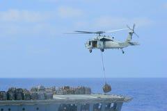 Helicóptero militar fotos de archivo