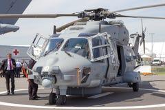 Helicóptero militar da marinha NH90 Foto de Stock Royalty Free