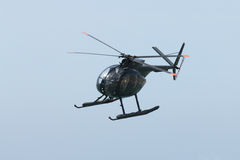 Helicóptero militar preto Imagens de Stock