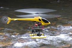 Helicóptero modelo Fotos de Stock Royalty Free