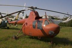 Helicóptero muy viejo Foto de archivo libre de regalías
