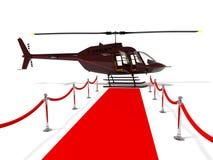 Helicóptero para a pessoa muito importante Fotografia de Stock Royalty Free