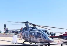 Helicóptero para uso general ligero, dhruv de Aerolndia imagen de archivo libre de regalías