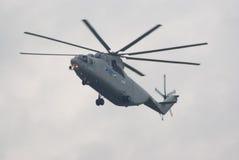 Helicóptero pesado do transporte de Mi-26T Fotografia de Stock