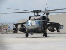 Helicóptero policia de Colombia Stock Photo