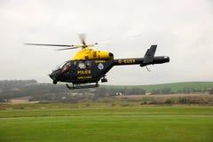 Helicóptero policial. Fotografía de archivo