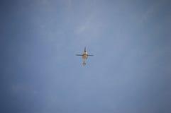 Helicóptero policial Fotografía de archivo