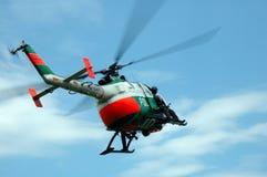 Helicóptero policial Foto de archivo libre de regalías