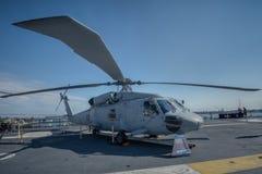Helicóptero San Diego Fotografía de archivo