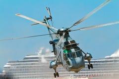 Helicóptero Seaking Imagen de archivo libre de regalías