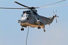 Helicóptero Seaking Foto de Stock