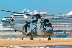 Helicóptero Seaking Imagens de Stock Royalty Free