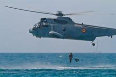 Helicóptero Seaking Imagem de Stock Royalty Free