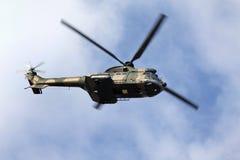 Helicóptero surafricano de la fuerza aérea Fotografía de archivo