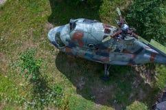 Helicóptero velho Imagens de Stock