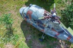 Helicóptero velho Fotografia de Stock