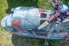 Helicóptero velho Imagem de Stock Royalty Free