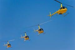 Helicópteros Foto de archivo