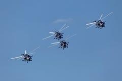 Helicópteros Fotografía de archivo libre de regalías