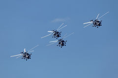Helicópteros Fotografia de Stock Royalty Free