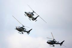 helicópteros Imágenes de archivo libres de regalías
