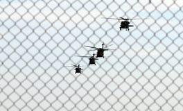 helicópteros Fotos de archivo libres de regalías