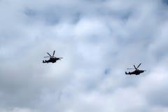helicópteros Fotos de Stock Royalty Free