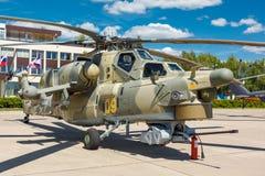 Helicópteros das forças armadas do russo de Mi-28N Foto de Stock Royalty Free