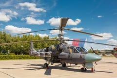 Helicópteros das forças armadas do russo Ka-52 Foto de Stock Royalty Free