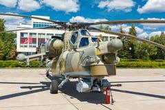 Helicópteros das forças armadas do russo Mi-28 Fotografia de Stock