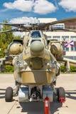 Helicópteros das forças armadas do russo Mi-28 Imagem de Stock