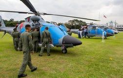 Helicópteros de combate Imagenes de archivo