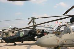 Helicópteros militares Imagem de Stock