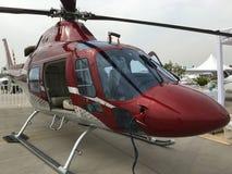 Helicópteros no Chile Imagens de Stock